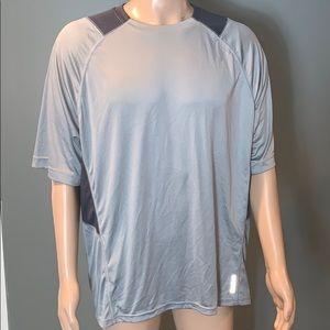 Reebok Mens Gray Performance T-shirt SZ.XL